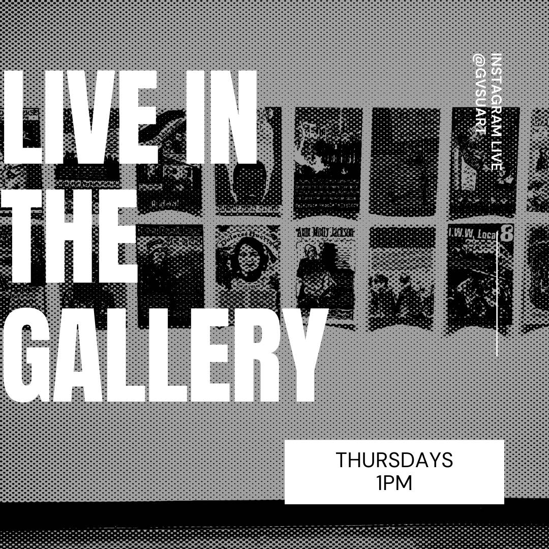 Live in the gallery